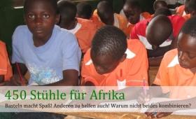 450 Stühle für Afrika