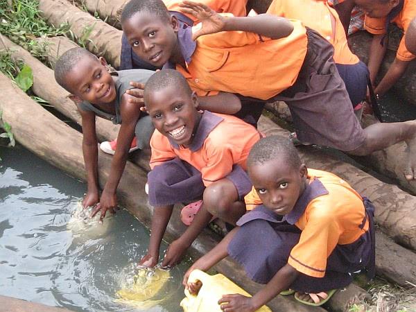 Wasser für die Baustelle - und für Zuhause